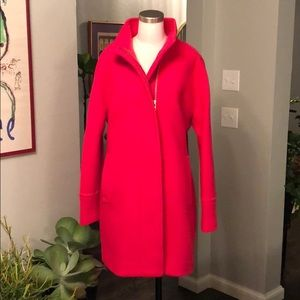 NWT J. Crew wool cocoon coat